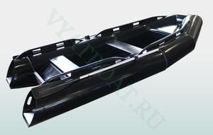 Лодка из ПНД РИБ 380R