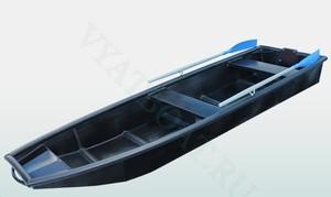 Лодка из ПНД 380