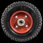 Цельно-резиновое колесо