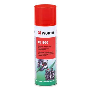 Спрей-смазка Wurth медная CU 800